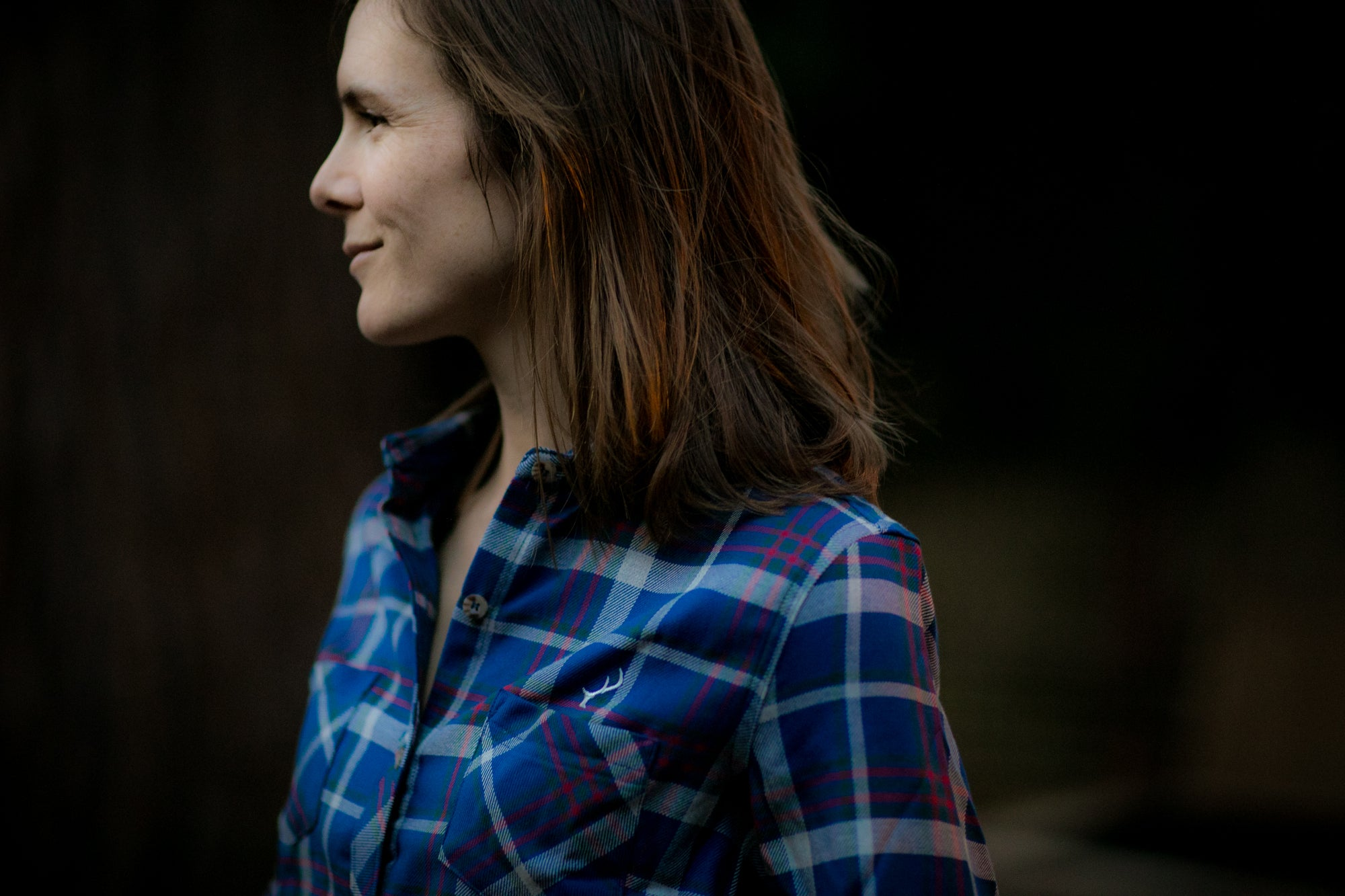 Women's Peregrine - Winter Blue Flannel