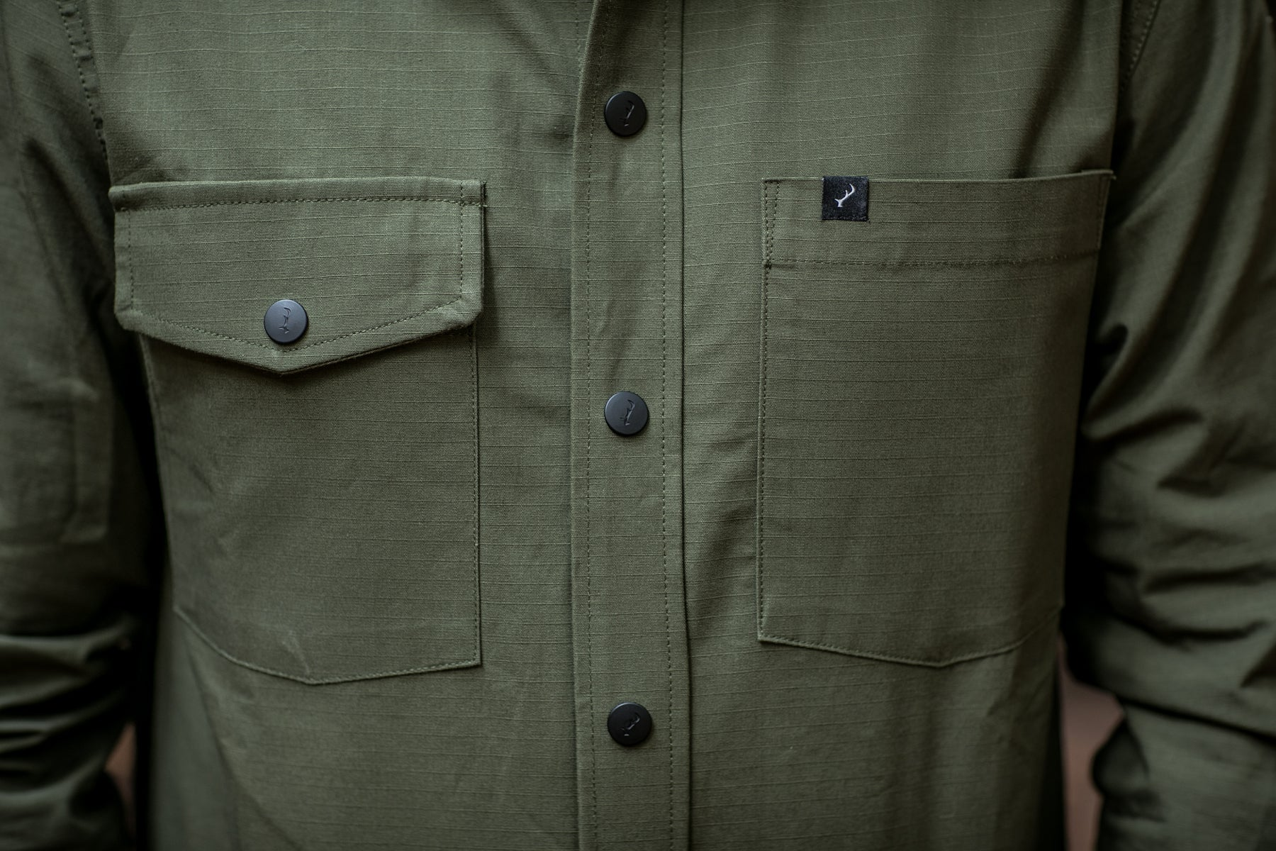 Men's Ranger Ripstop Shirt - Olive Green
