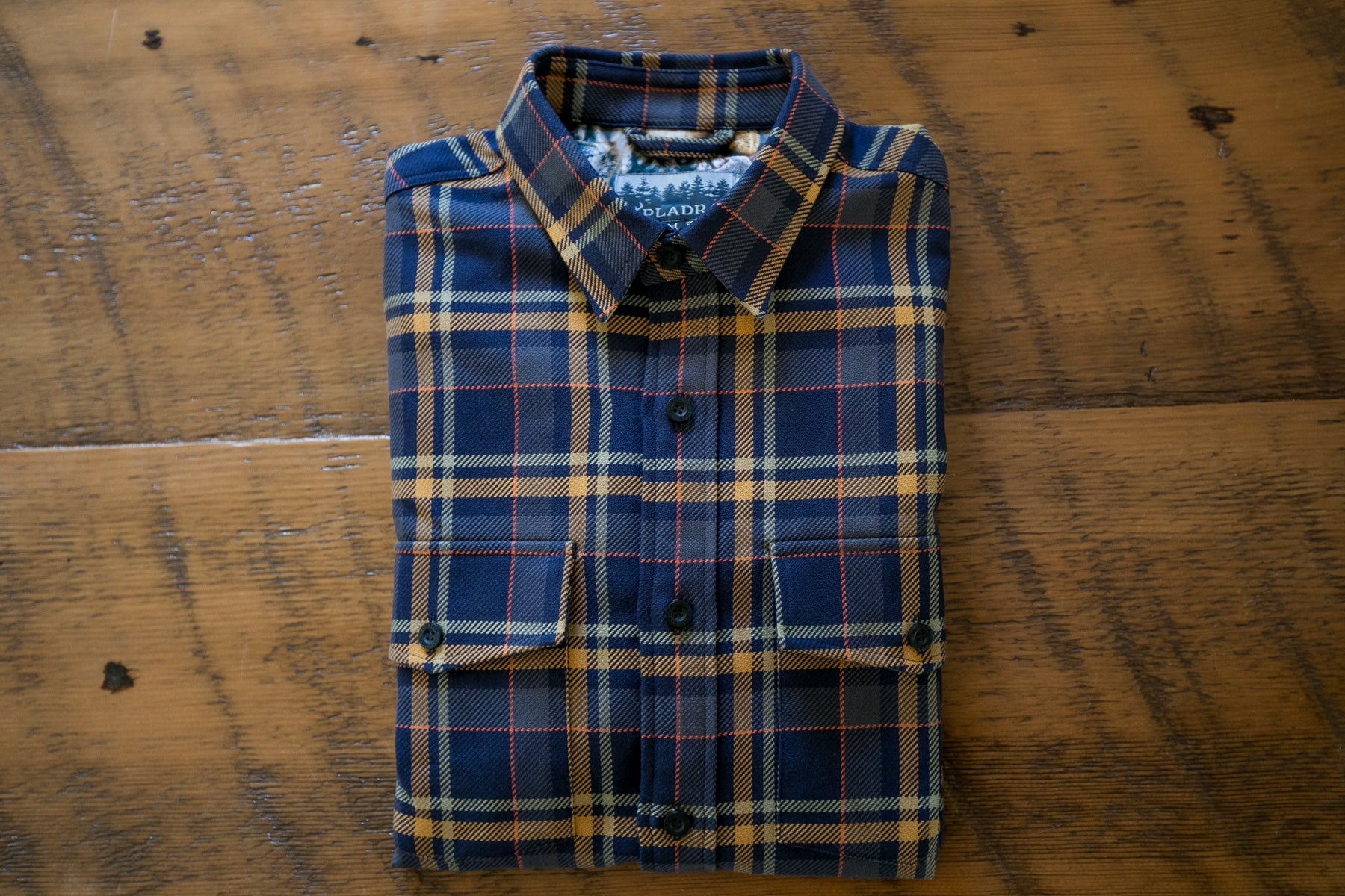 Men's Leon - Bozeman Blue Flannel