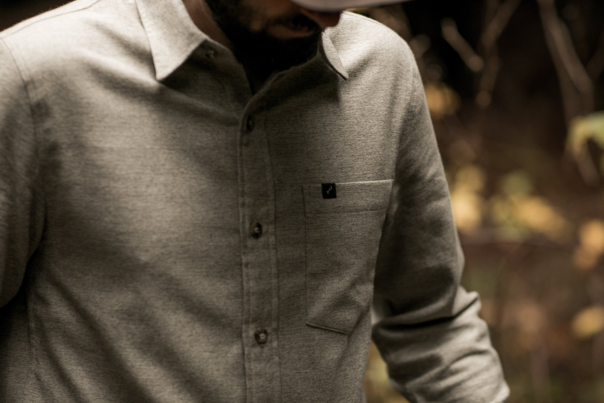 Men's Cascade Shirt - Wheat Tan