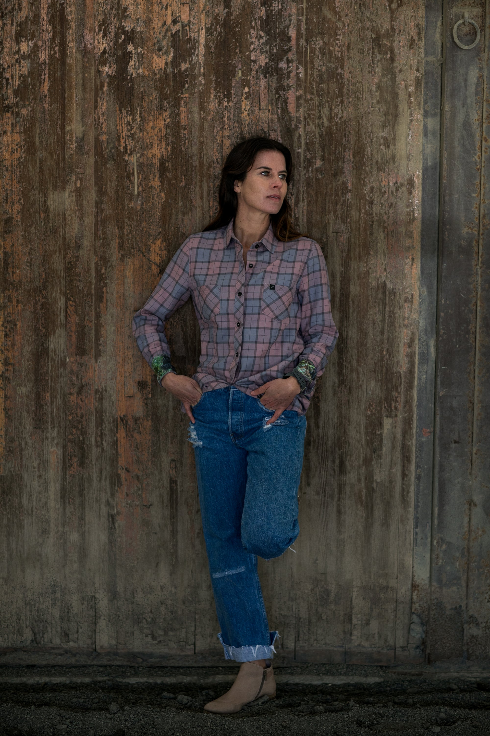 Women's Peregrine - Lilac Pink Flannel