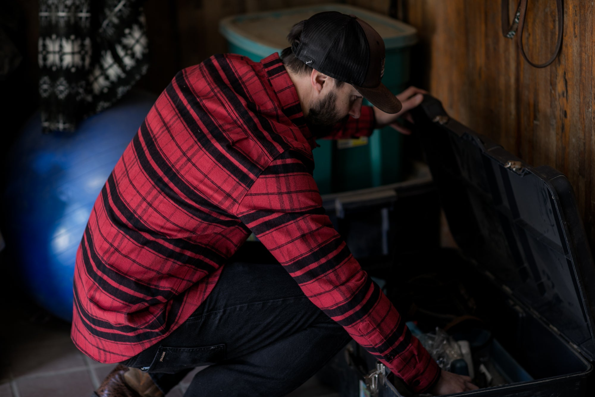 Men's Leon - Timber Red Flannel