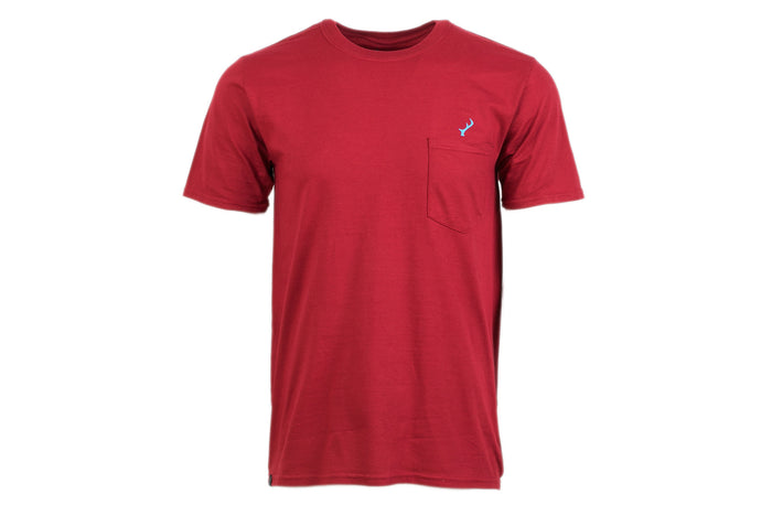 Men's T-Shirt - Red Pocket Logo