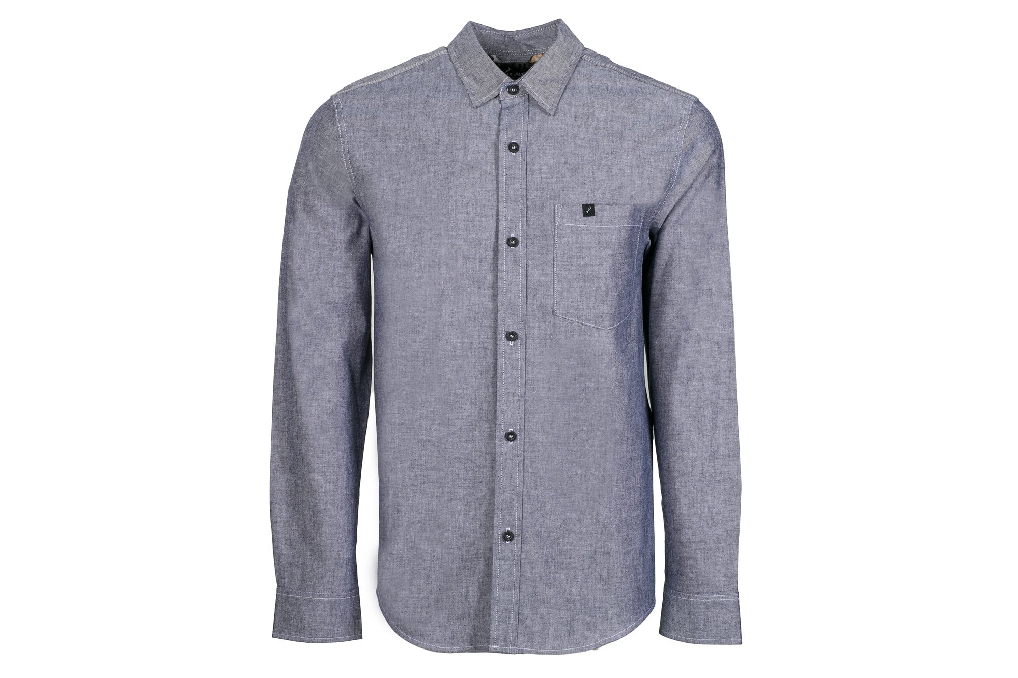 Men's Elli - Indigo Slate Blue Chambray