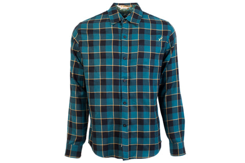 Men's Elli - Steel Blue Flannel