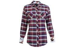 Women's Peregrine - Storm Red Flannel