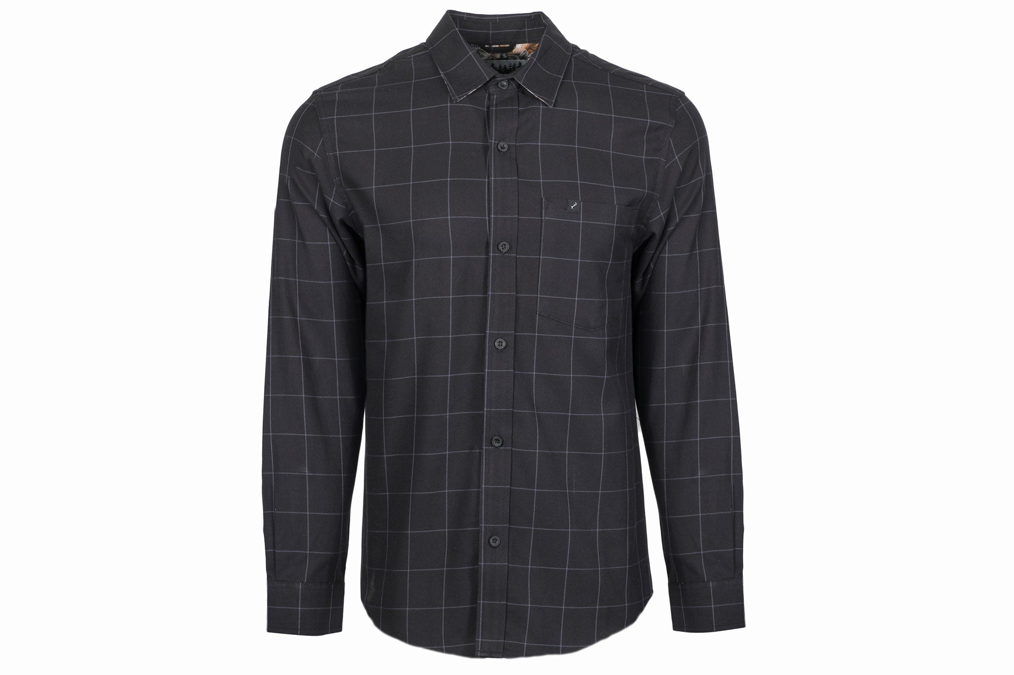 Men's Elli - Thunder Black Flannel