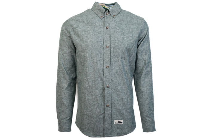 Men's Timber Green Chambray