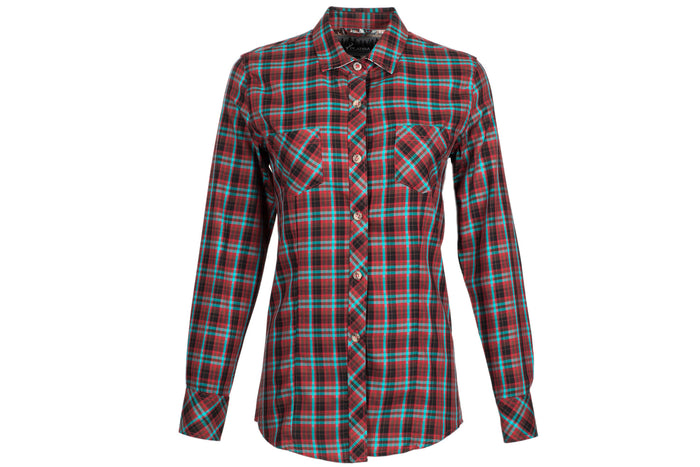 Women's Peregrine - Harrier Red Poplin