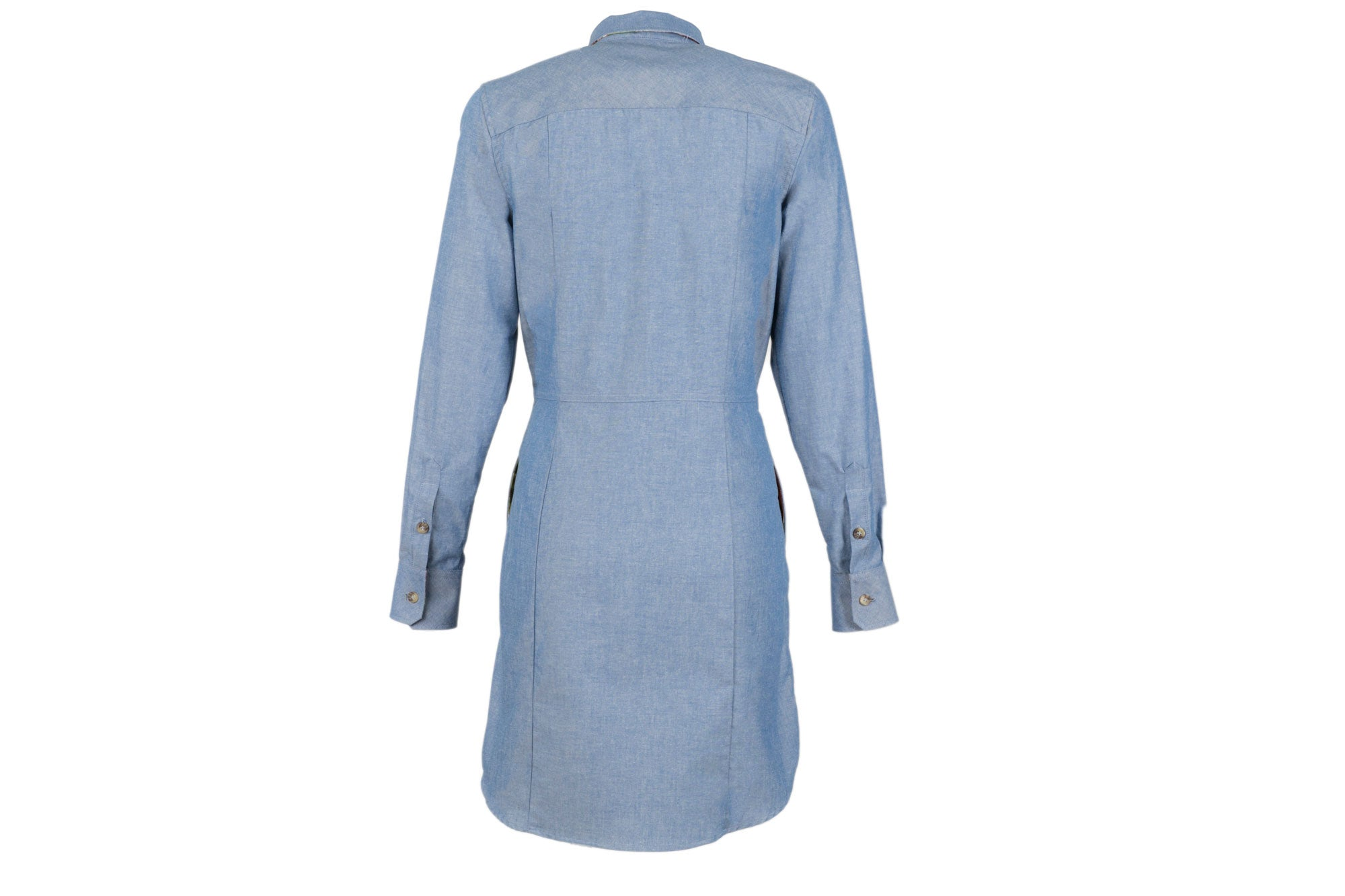 Women's Dress - Moonshine Blue Chambray