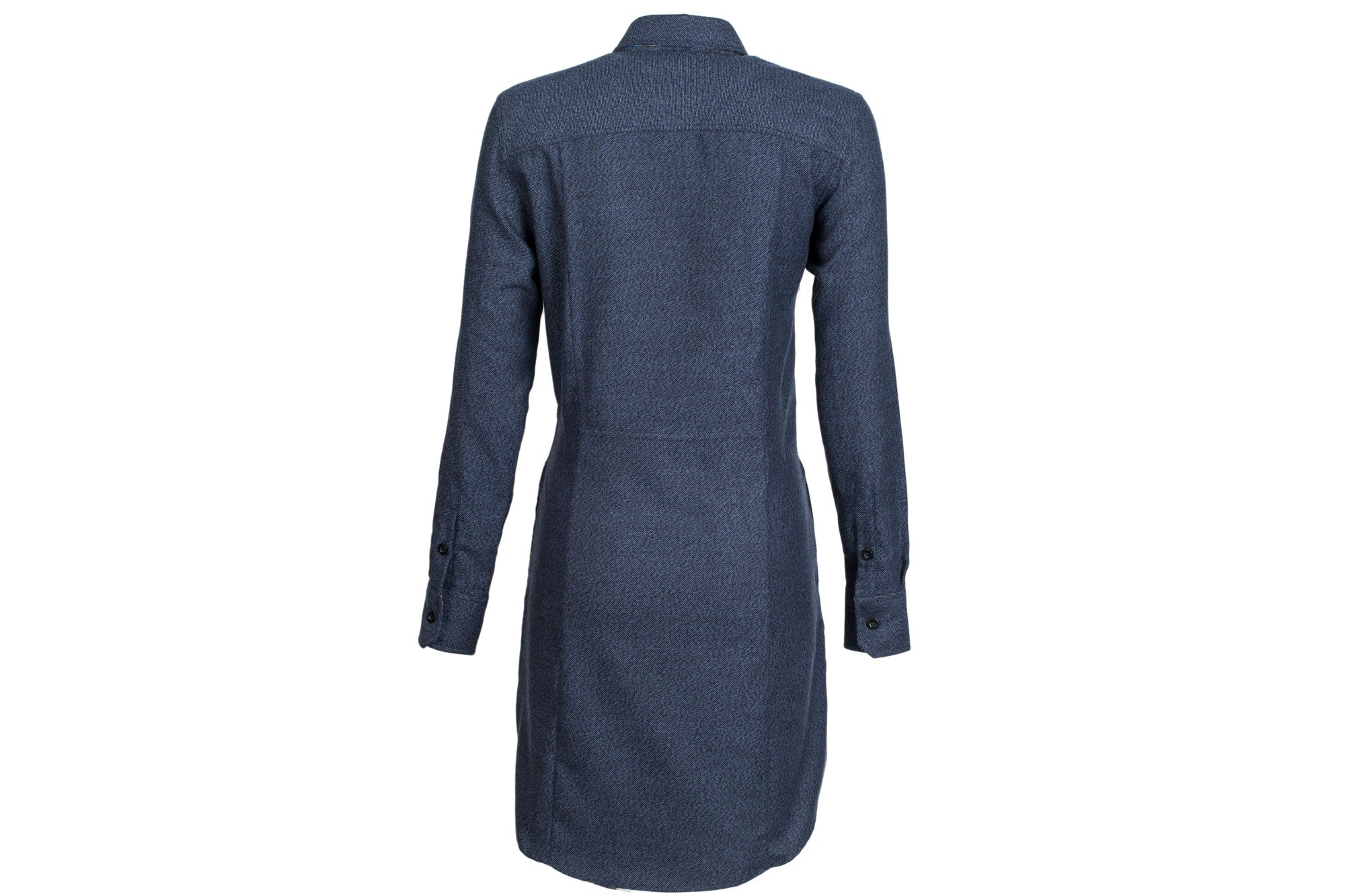 Women's Shirt Dress - Midnight Blue