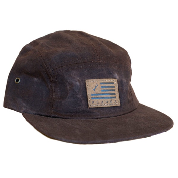 Waxed Canvas 5 Panel Hat Hats Pladra