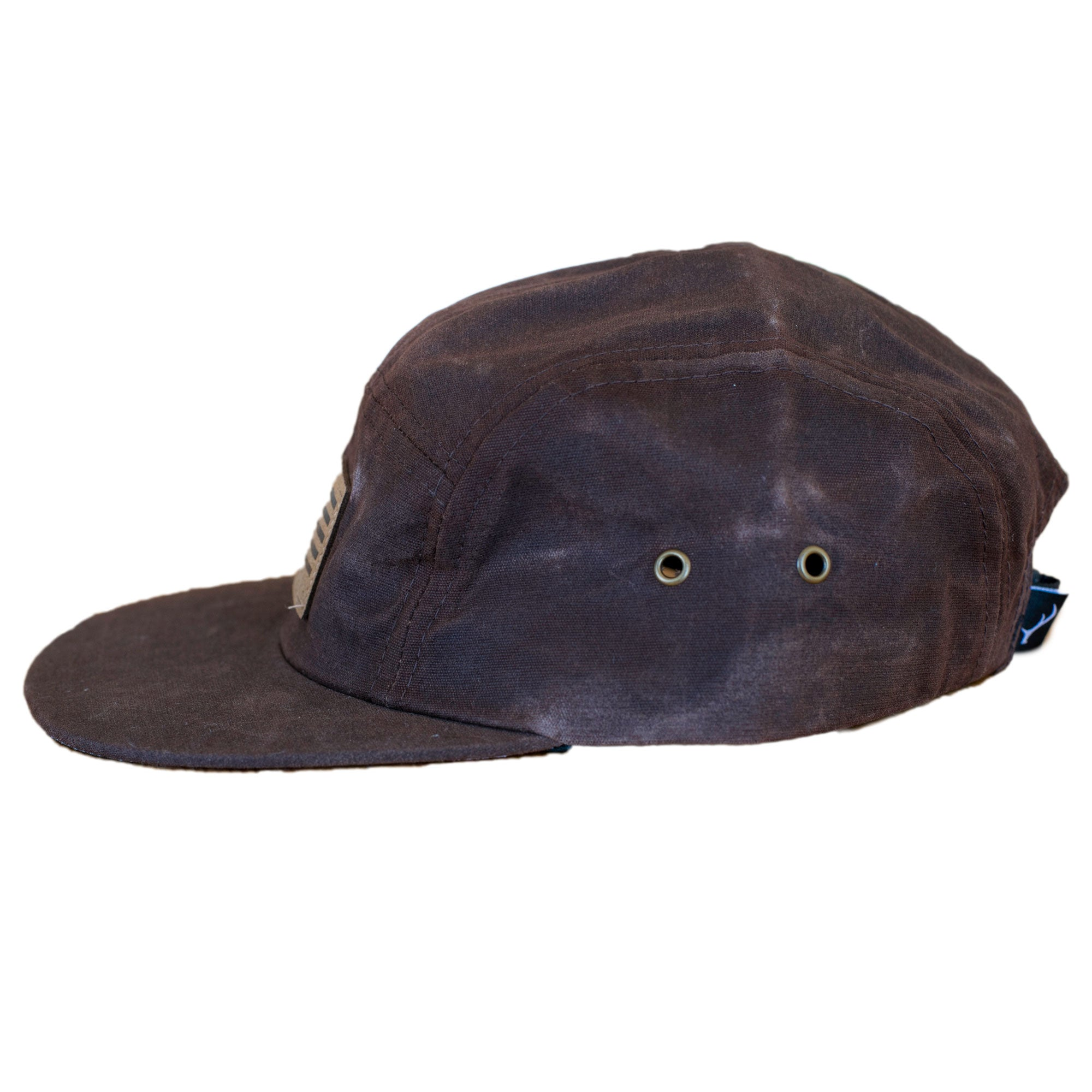 Waxed Canvas 5-Panel Hat
