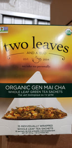 Organic Gen Mai Cha Whole Leaf Green Tea
