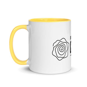 Rose Logo Mug with Color Inside