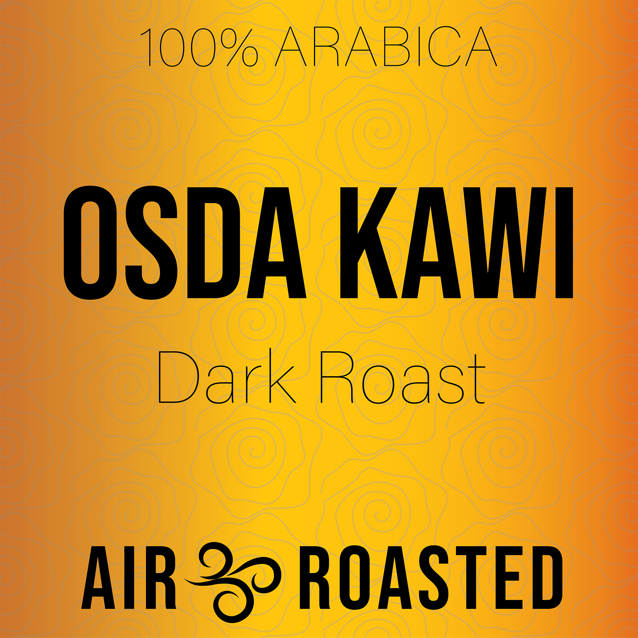 Osda Kawi- Dark Roast - 4 oz Sample