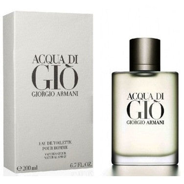 Acqua Di Gio Pour Homme by Giorgio Armani 6.7 Oz EDT Spray - FragranceOriginal.com