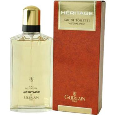Heritage By Guerlain For Men EDT 3.4 Oz - FragranceOriginal.com