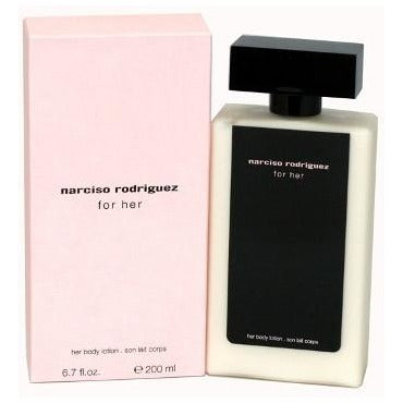 Narciso Rodriguez For Her Body Lotion for Women 6.7 Oz - FragranceOriginal.com