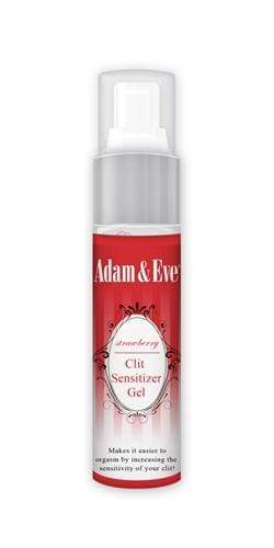 adam and eve strawberry clit sensitizer gel 1 oz  -  Adam and Eve Products