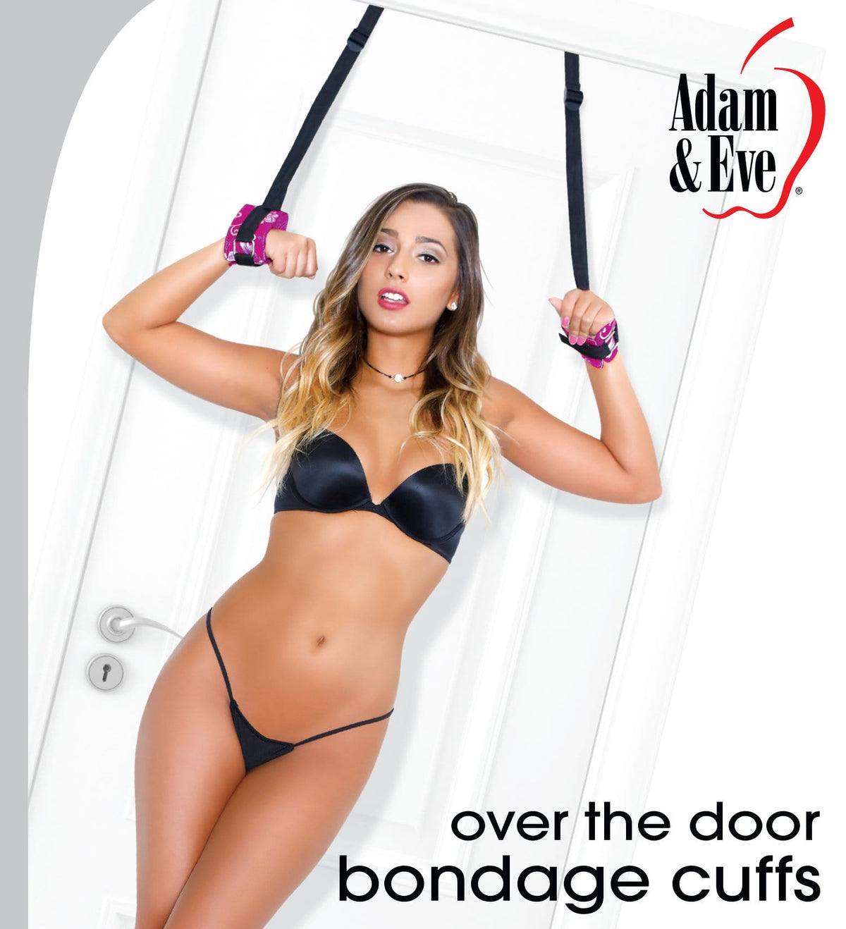 over the door bondage cuffs     Adam and Eve Products