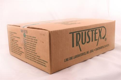 trustex flavored lubricated condoms 1000 piece box assorted flavors