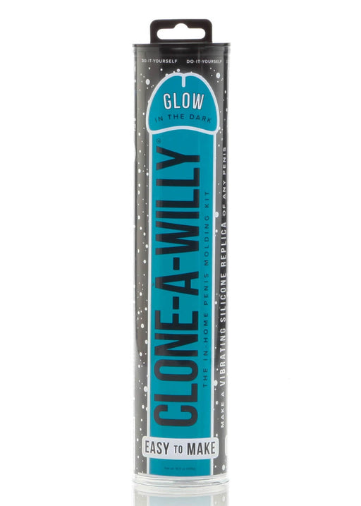 clone a willy glow in the dark kit blue