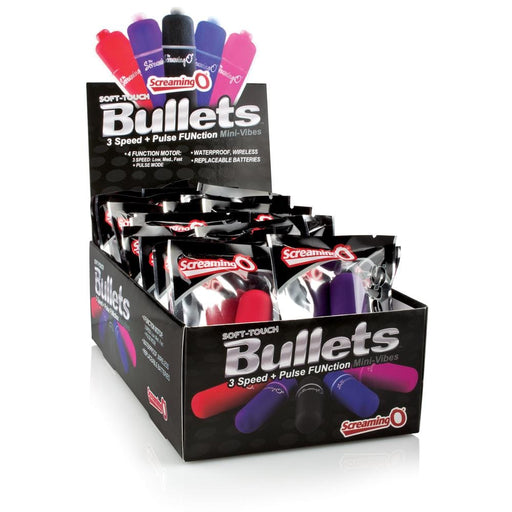soft touch 3 1 bullets 20 count pop box display assorted colors