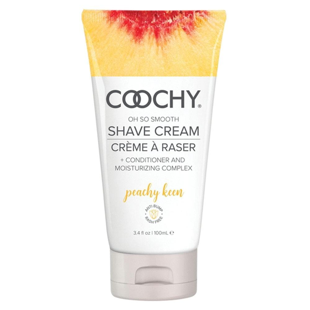 coochy oh so smooth shave cream peachy keen 3 4 fl oz 100ml