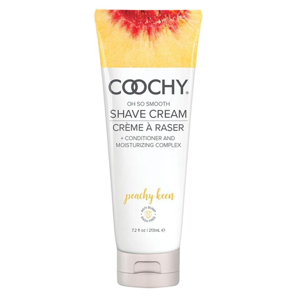 coochy oh so smooth shave cream peachy keen 7 2 fl oz 213ml