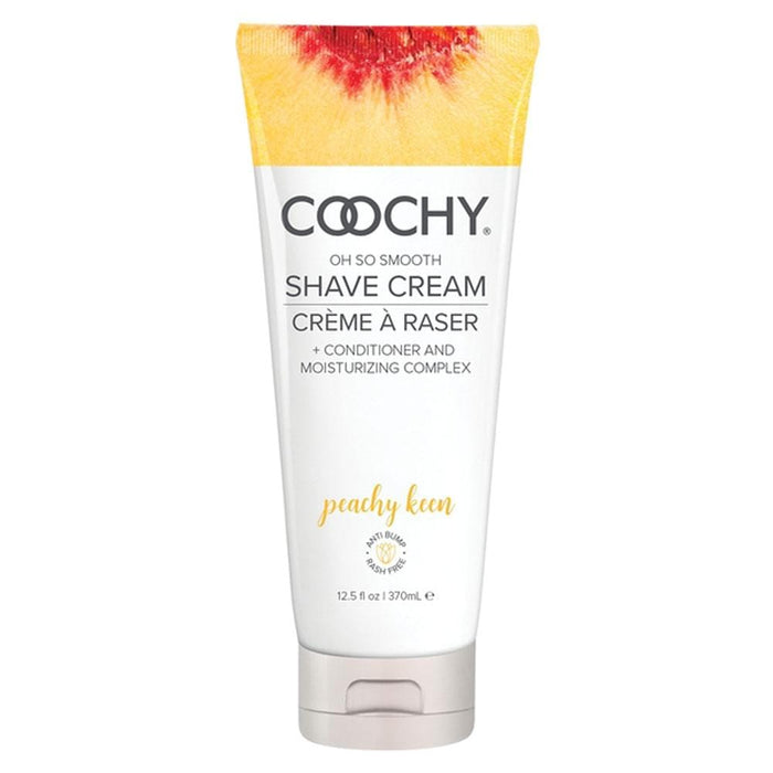 coochy oh so smooth shave cream peachy keen 12 5 fl oz 370ml