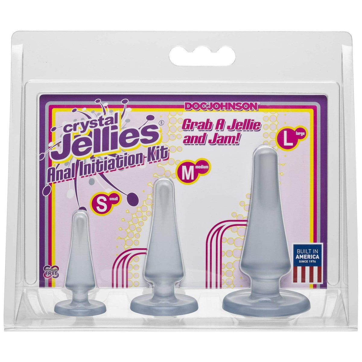 crystal jellies anal initiation kit clear