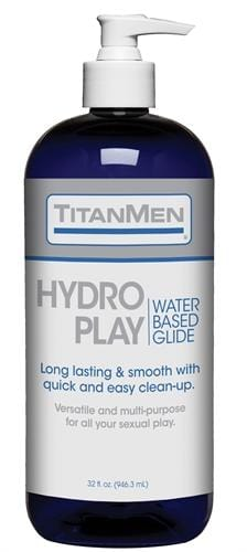 titanmen hydro play water based glide bulk 32 fl oz