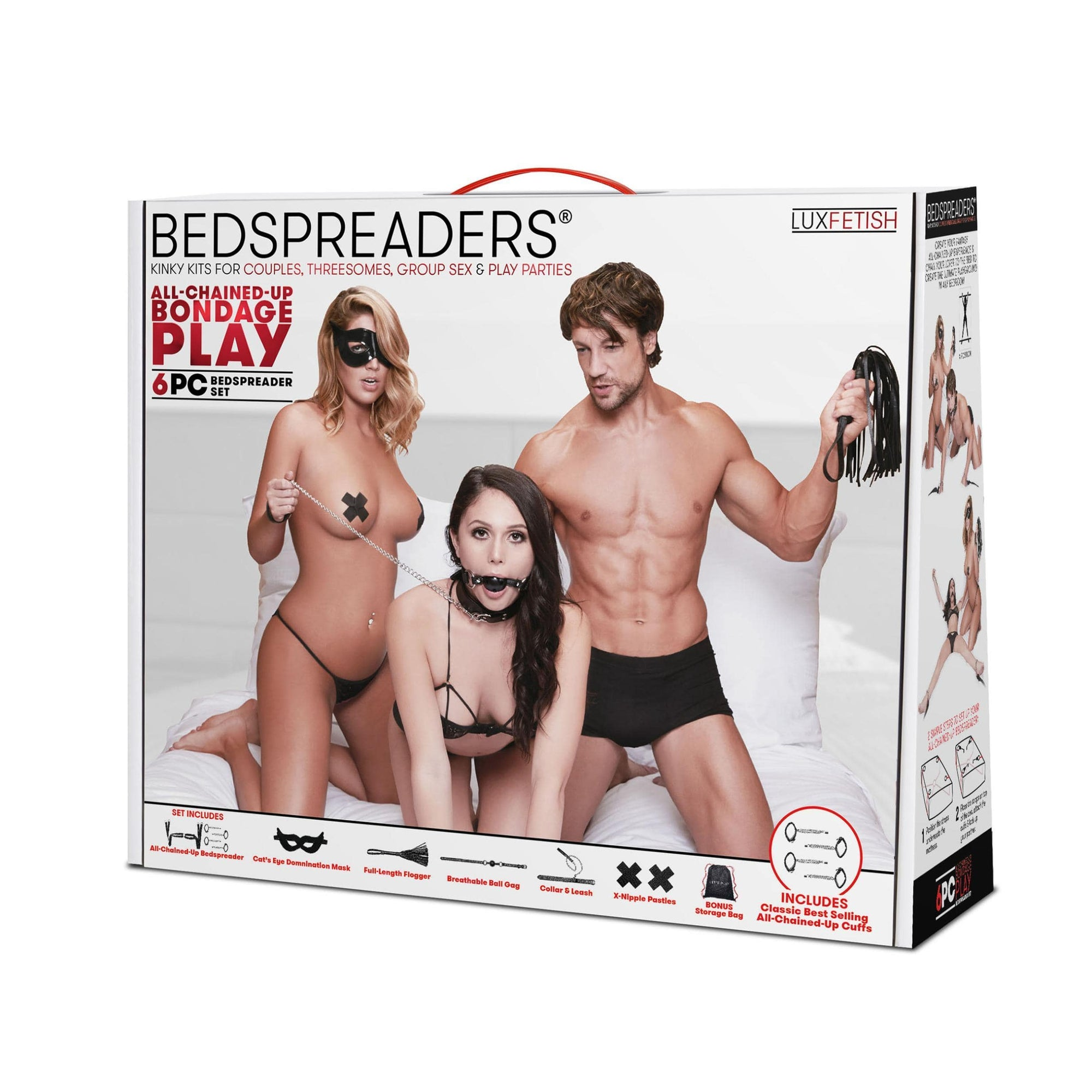master slave domination chain me up 6pc bedspreaders set