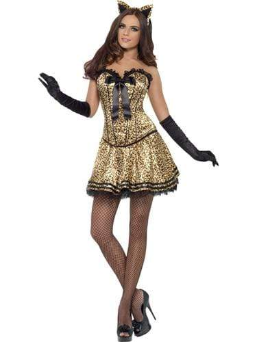 fever boutique kitty costume medium