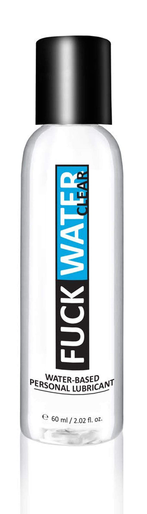 fuck water clear 2oz water based lubricant