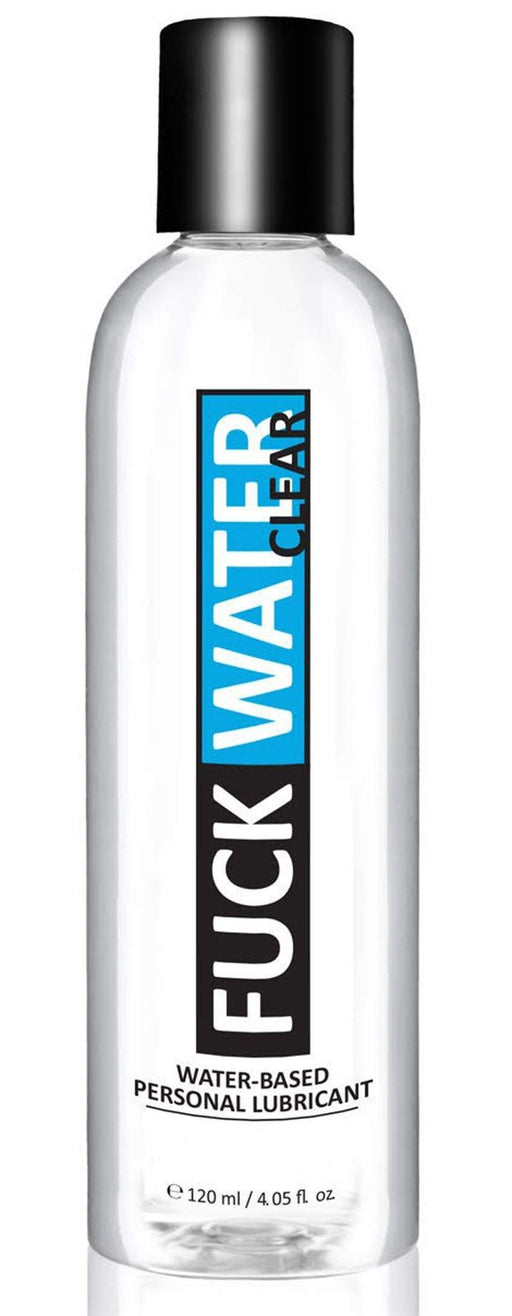 fuck water clear 4oz water based lubricant