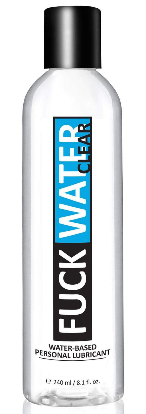 fuck water clear 8 1oz water based lubricant