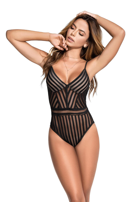 bodysuit black large