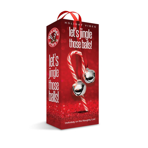 holiday vibes naughty list gift lets jingle those balls tight textured stroker adult sex toys