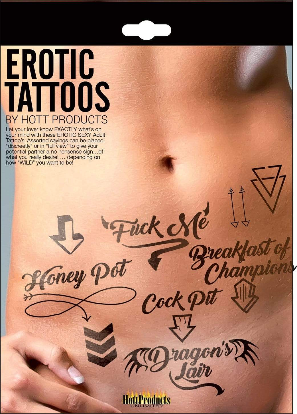 erotic tattoos assorted pack