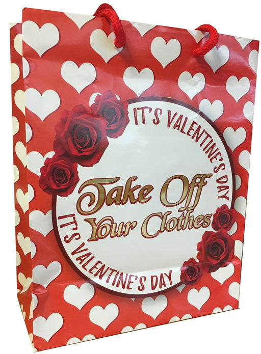 take off your clothes gift bag adult sex toys