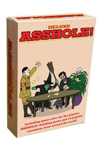 deluxe asshole card game