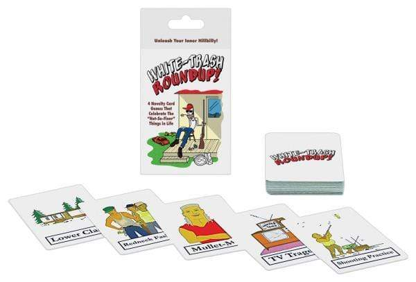 whitetrash roundup card game