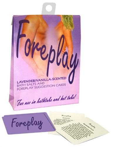 foreplay bath set lavender and vanilla