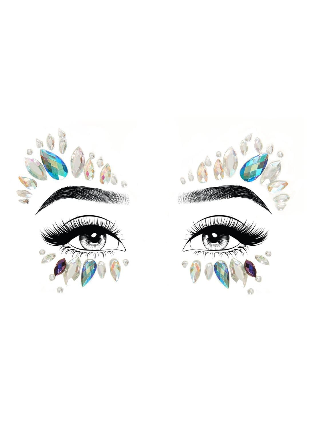 desna adhesive face jewels