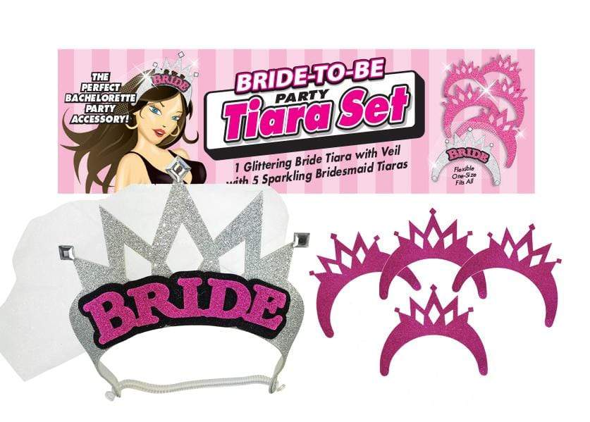 bride to be party tiara set