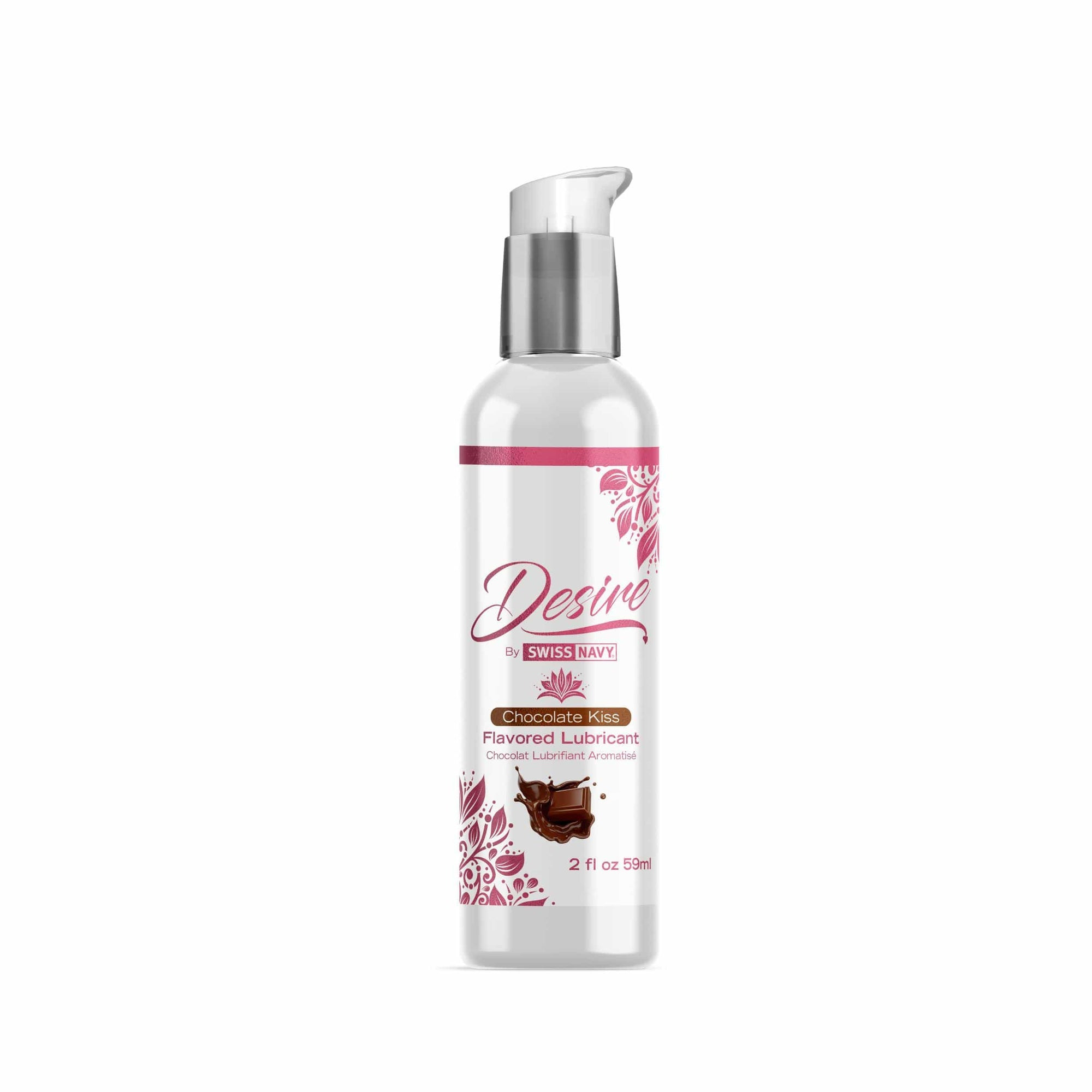 desire flavored lubricant chocolate kiss 2 fl oz