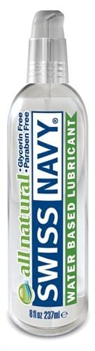 swiss navy premium all natural lubricant 8 oz