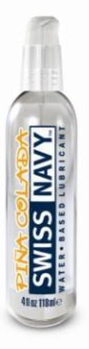 swiss navy flavors water based lubricant pina colada 4 fl oz cheap sex toys